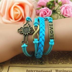 Infinity Love Bracelet-Antique Bron..